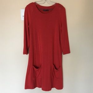 Abercrombie & Fitch 3/4 Sleeve T-Shirt Dress